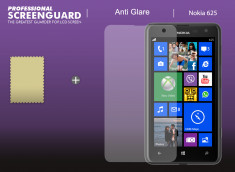 KIT avec 1 film protecteur anti-reflet + 1 chiffon Nokia Lumia 625