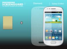 KIT 1 film protecteur Samsung Galaxy S3 mini effet Diamant + 1 chiffon