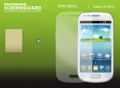 KIT 1 film protecteur Samsung Galaxy S3 mini effet Miroir  + 1 chiffon