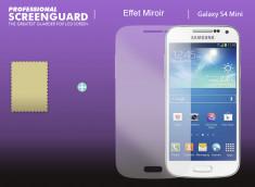 KIT 1 film protecteur Samsung Galaxy S4 mini effet Miroir  + 1 chiffon