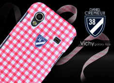 Coque Samsung Galaxy Ace Vichy Case by Daniel Cremieux + 1 film