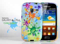 Coque Galaxy Ace Plus Color Splash