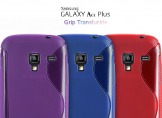 Coque Galaxy Ace Plus SIlicone Grip Color