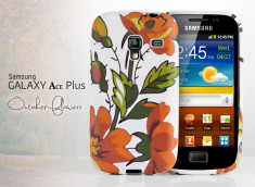 Coque Galaxy Ace Plus October Flowers