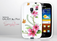 Coque Samsung Galaxy Ace Plus Spring Flower
