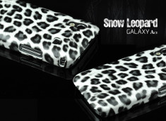 Coque Galaxy Ace Snow leopard