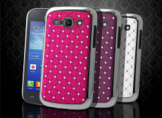 Coque Samsung Galaxy Ace 3 Luxury Leather