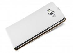 Etui Samsung Galaxy A3 Business Class-Blanc