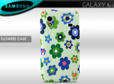 Coque Galaxy Ace Flowers