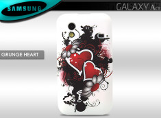 Coque Samsung Galaxy Ace Grunge Heart