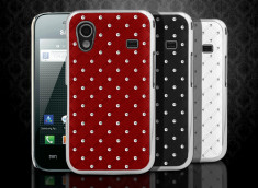 Coque Samsung Galaxy Ace Luxury Leather