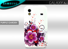 Coque Samsung Galaxy Ace Purple Garden