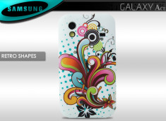 Coque Samsung Galaxy Ace Retro Shapes