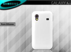 Coque Samsung Galaxy Ace Silicone Blanc