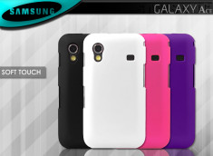 Coque Galaxy Ace Soft Touch