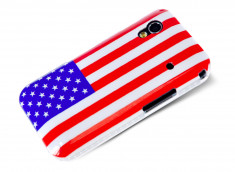 Coque Samsung Galaxy Ace USA Flag