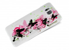 Coque Samsung Galaxy Alpha Butterfly Flex