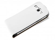 Etui Samsung Galaxy Core 4G Business Class-Blanc