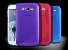 Coque Samsung Galaxy Grand Duos Silicone Grip Color