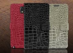 Etui Samsung Galaxy Note 3 Wallet Croco