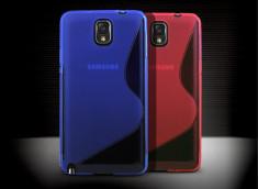 Coque Samsung Galaxy Note 3 Silicone Grip translucide
