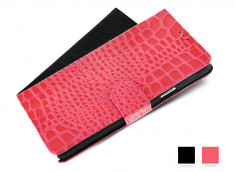 Etui Samsung Galaxy Note 4 Croco Gloss