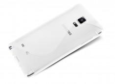 Coque Samsung Galaxy Note 4 Silicone Grip-Translucide