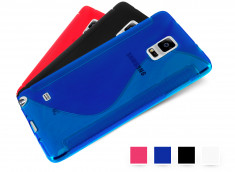 Coque Samsung Galaxy Note 4 Silicone Grip