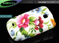 Coque Galaxy S Mini 5570 Décor Floral