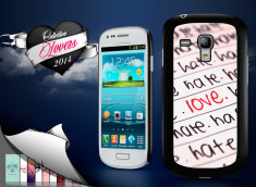 Coque Samsung Galaxy S3 mini Hate but Love