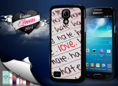 Coque Samsung Galaxy S4 mini Hate but Love