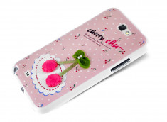 Coque Samsung Galaxy Note 2 Cherry Chu par Cocoroni