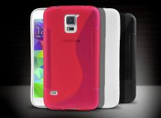 Coque Samsung Galaxy S5 Silicone Grip