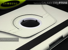 Etui Spin Leather White Galaxy Tab P7510 (10.1'')