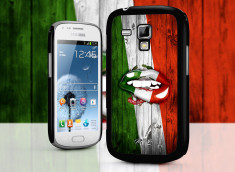 Coque Samsung Galaxy Trend Lips Coupe du Monde 2014-Italia