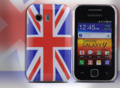 Coque Samsung Galaxy Y UK Flag