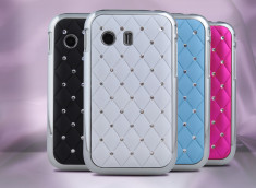 Coque Samsung Galaxy Y Luxury Leather