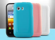 Coque Samsung Galaxy Y Silicone Glossy
