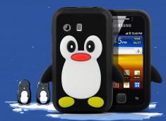 Coque Samsung Galaxy Y Pingouin