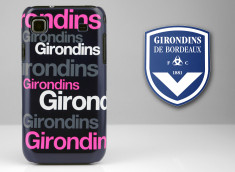 Coque Officielle Samsung Galaxy S Girondins de Bordeaux - Typo
