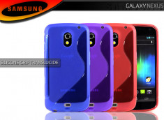 Coque Galaxy Nexus Silicone Grip Color