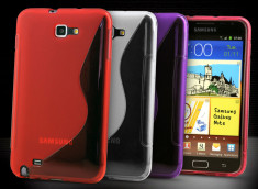 Coque Samsung Galaxy Note Silicone Grip