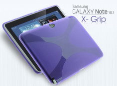 Coque Samsung Galaxy Note 10.1 X Grip Violet