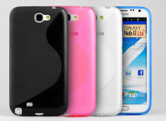 Coque Samsung Galaxy Note 2 Silicone Grip