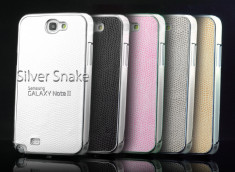 Coque Galaxy Note 2 Silver Snake
