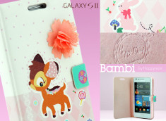 Etui Galaxy S2 Happymori - Bambi