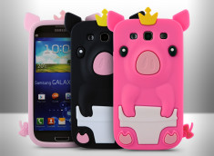 Coque Samsung Galaxy S3 - Piggy King