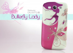 Coque Samsung Galaxy S3 Butterfly Lady