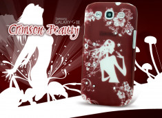 Coque Samsung Galaxy S3 Crimson Beauty