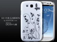 Coque Samsung Galaxy S3 Silver Garden-Blanc